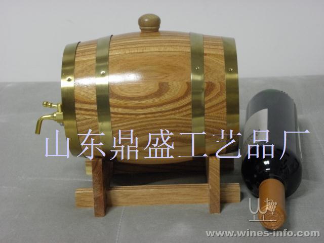 5升辐射松红酒桶橡木桶橡胶木红酒桶装饰桶大量定做