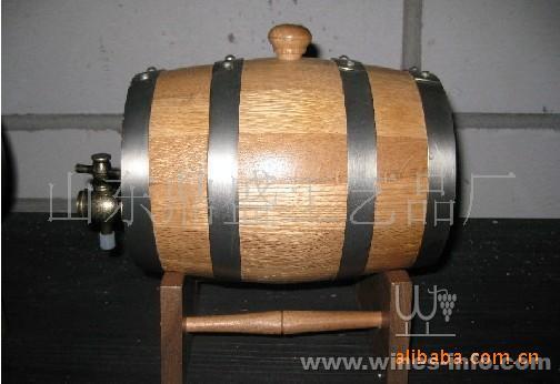 60l辐射松装饰桶 装饰红酒桶