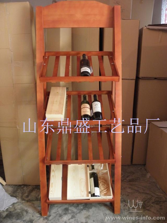 >>红酒架红酒展示架酒窖用葡萄酒展架实木酒架多层酒架洋酒杯架