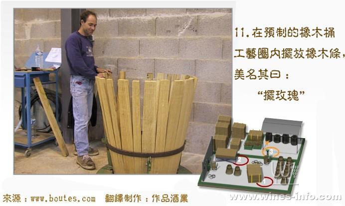 橡木桶制作过程