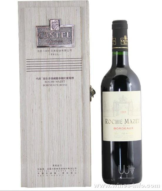 法国卡斯特波尔多珍藏ao橡木桶红酒:中国葡萄酒资讯