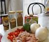 吃喝那点事 - 椰汁鸡肉饭和灰皮诺