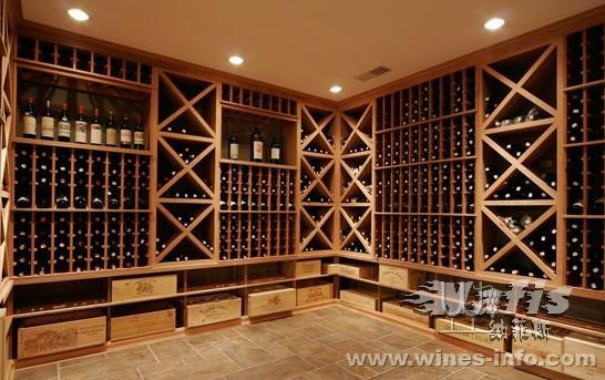 步入式酒柜储藏葡萄酒的卓越功效
