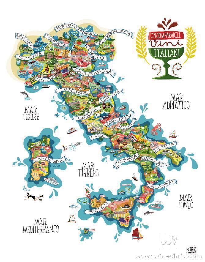 撒丁岛葡萄酒完全认证